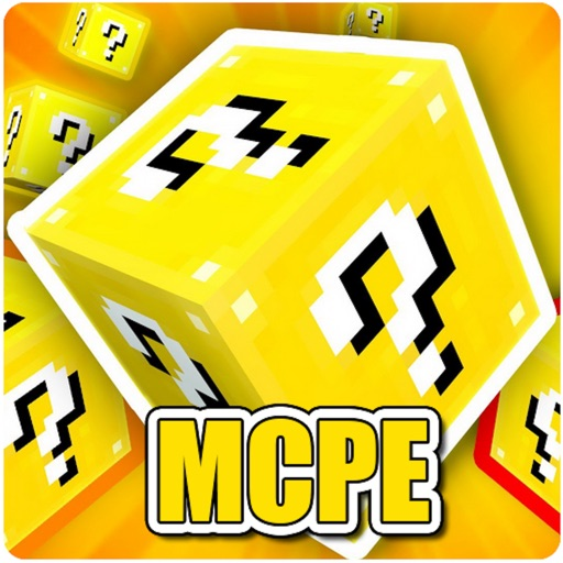 Lucky Block Addons for Minecraft Pocket Edition PE
