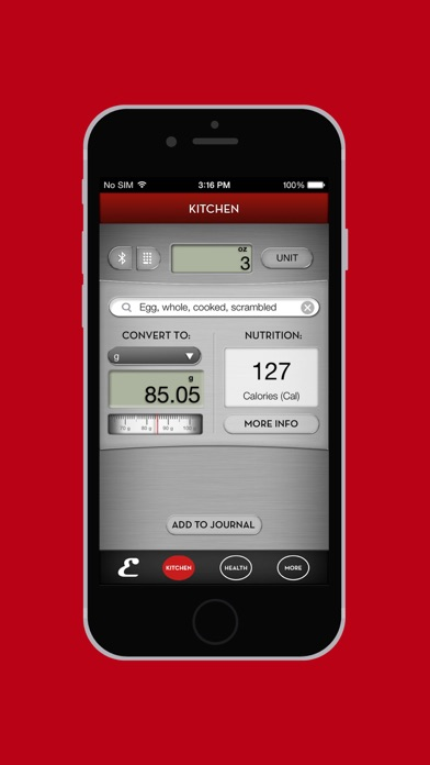 Escali smartconnect app insight download for Kitchen scale with app