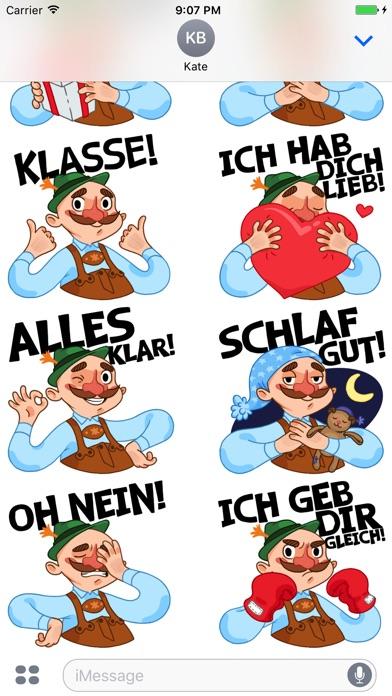 Typisch Deutsch — Стикеры от DeutschEffektСкриншоты 3
