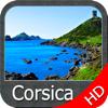Corse GPS HD cartes nautiques pour la navigation