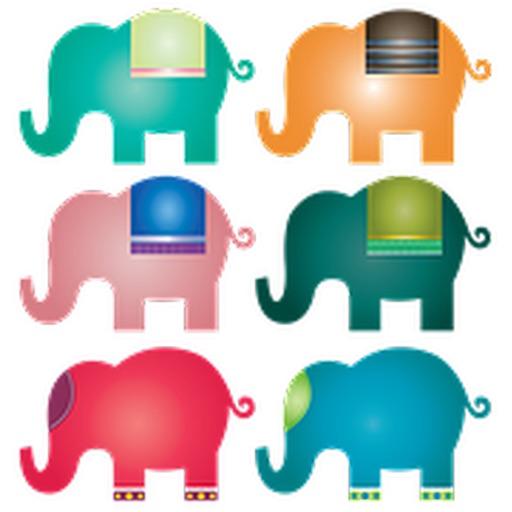 Слон наклейка обновления