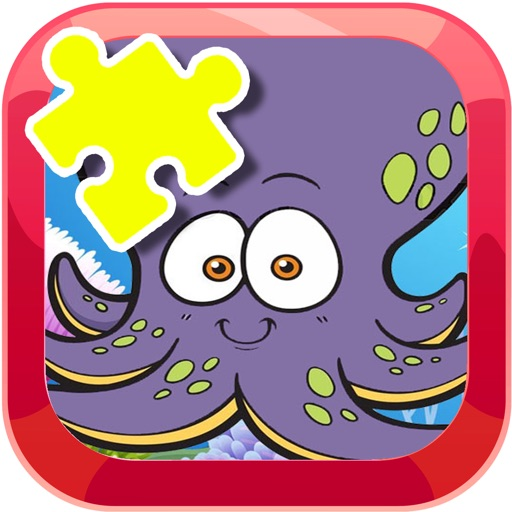Octopus Games Jigsaw Puzzles For Kids iOS App