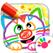 幼儿绘画! 涂色教育儿童游戏!