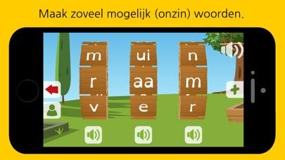 Screenshot for Woordwiel2: Moeilijke woorden leren lezen, groep 3 in United States App Store