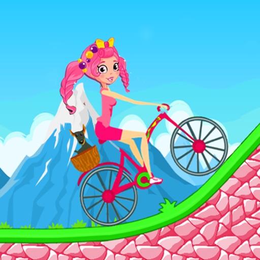 Little Biking Sweet Girl - For SHopkins Game iOS App