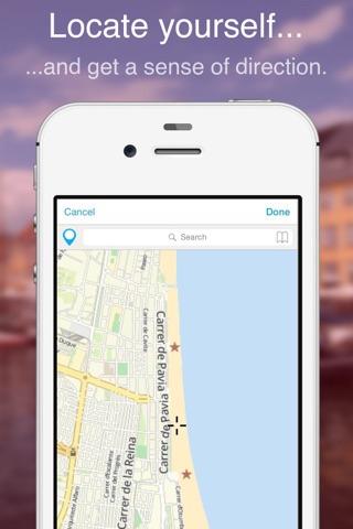 Valencia on Foot : Offline Map screenshot 2