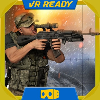 Rogue Commander War Sniper - Virtual Reality (VR) for iPhone