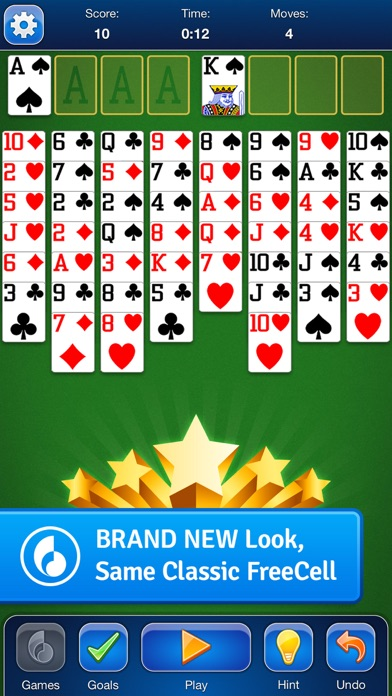 FreeCell screenshot1