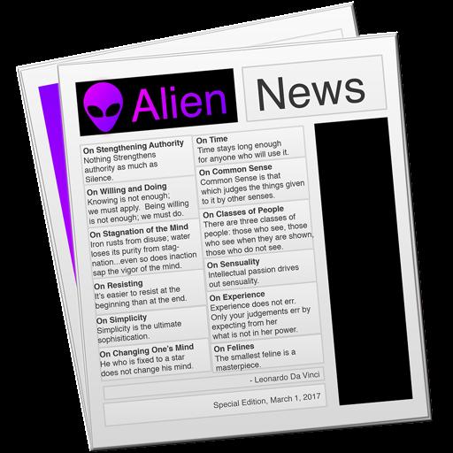 Alien News - Modern News Reader for Reddit