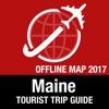 缅因州 旅遊指南+離線地圖