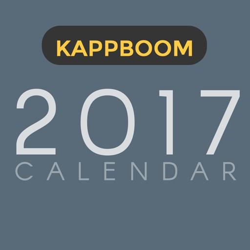 2017 Calendar Stickers