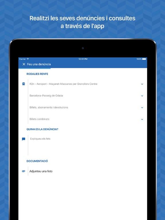 Captura de pantalla de l'iPad 4