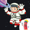 Outer Space Coloring Book for Kids. Learn to color