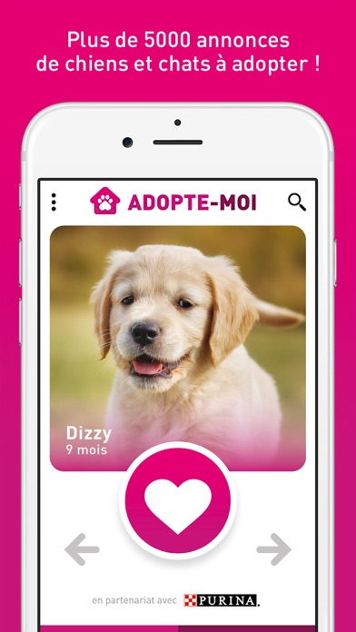 download Adopte-moi - Chiens et chats à adopter apps 0