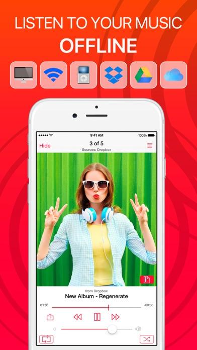 iMusic Cloud Player - Free Offline Music Streamer iOS Application