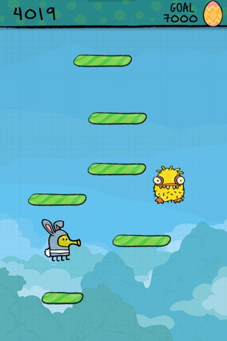 Doodle Jump Easter Special screenshot 1