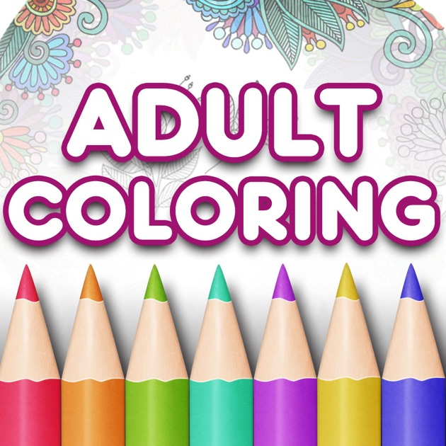 adult coloring book premium free color pages on the app store