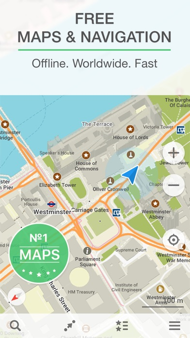 MAPSME Offline Map Nav On The App Store - Us road map for ipad