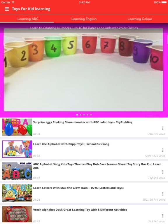 Screenshot #1 for Toys kid for learning colour, number, alphabet