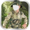Kids Military Uniform Photo Montage
