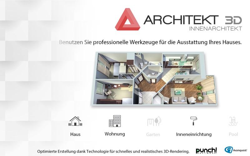 Architekt 3d innenarchitekt 2017 app preisentwicklung for Innenraum designer programm