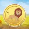 A Gold Lion King Escape