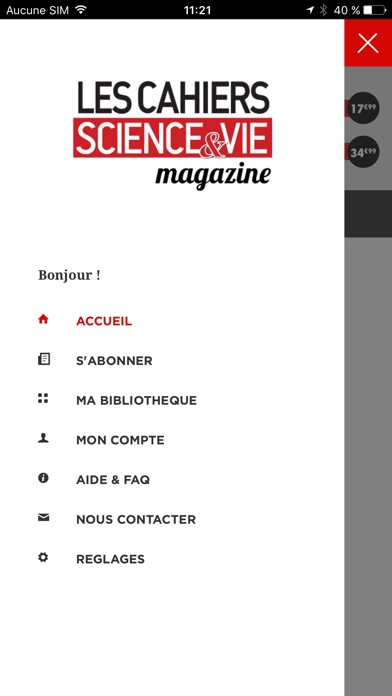 Les Cahiers De Science Vie Magazine review screenshots