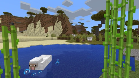 Screenshot #1 for Minecraft: Apple TV Edition