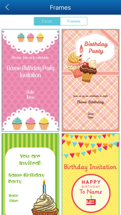 how to make birthday invitation cards