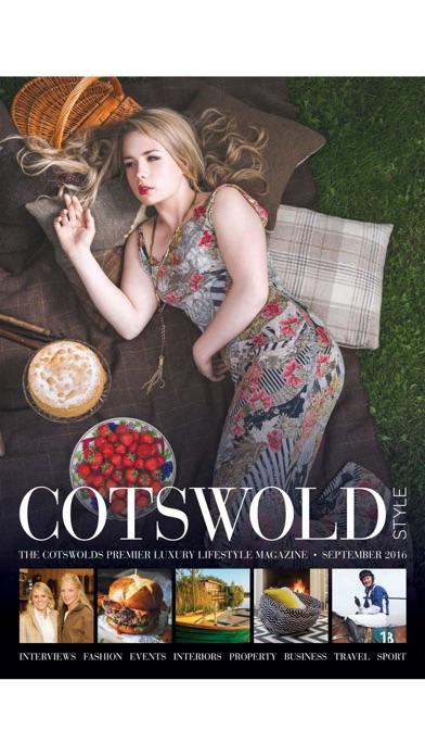 Cotswold Style Magazine screenshot1