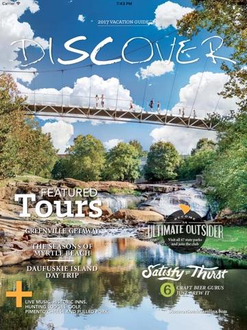 South Carolina Vacation Guide 2017 screenshot 1