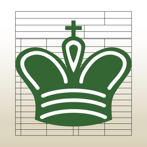 Chess Score Pad iOS App