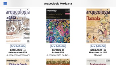 Arqueologa Mexicana review screenshots