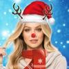 有趣的聖誕服飾 - 臉交換照片蒙太奇