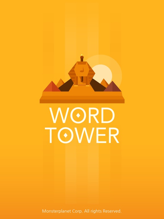 WORD TOWER - Fun word puzzle на iPad