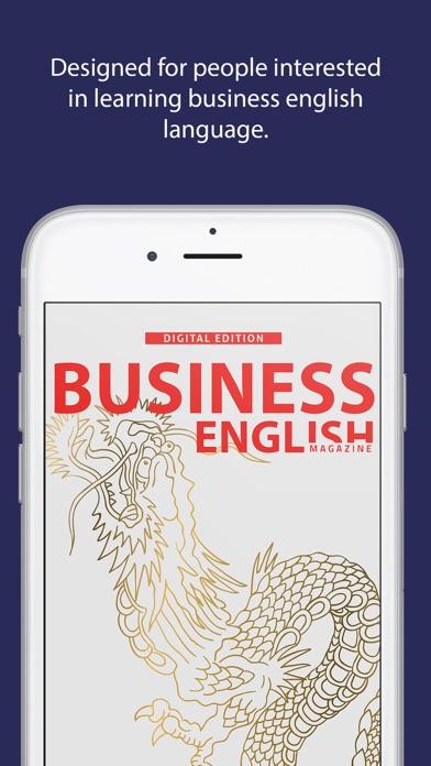 Business English Magazine review screenshots