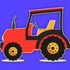 Monster Tractor Games Coloring Book For Kids