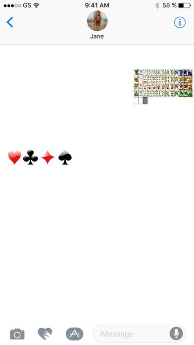 カードステッカーパックを再生のスクリーンショット2