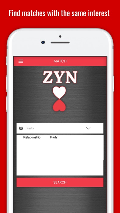 ZYN - The Dating App Screenshot