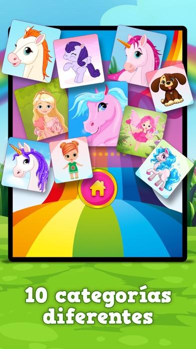 Poni y unicornio  Juego de memoria en App Store