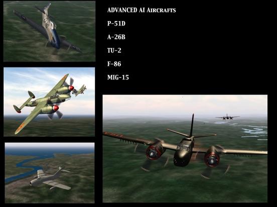 Screenshot #5 for GSIII - Flight Simulator - Heroes of the MIG Alley