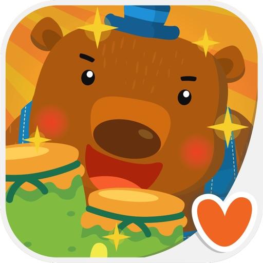 Kids Animal Game - The Bear & Bee, Play & Learn
