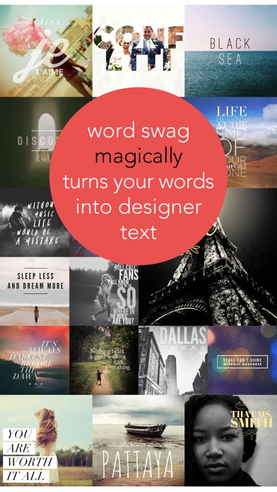 Word Swag - Cool fonts & typography generator Screenshot