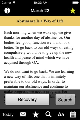 Food for Thought: Daily Meditations for Overeaters screenshot 3