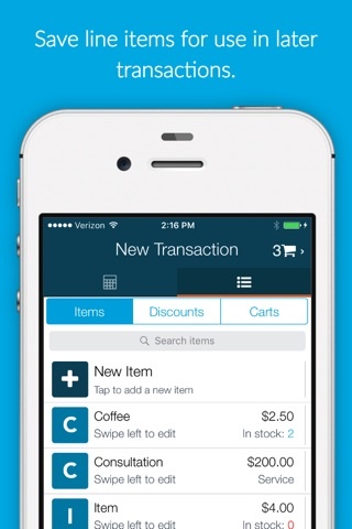 Fattmerchant Payments Mobile screenshot 3