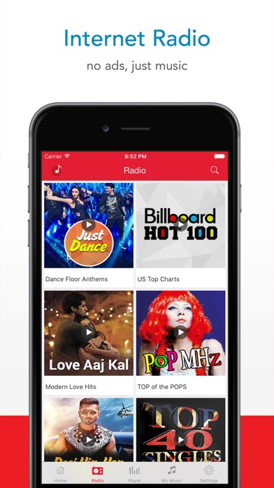 ... Screenshot for Wynk Music in India App Store ...