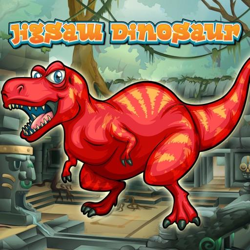 子供のためのゲームを学ぶ恐竜のジグソーパズル 幼児向け無料ゲーム