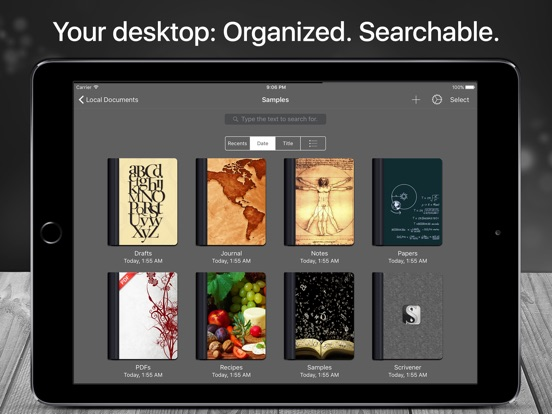 Scrivo Pro for Scrivener and Writers Screenshots