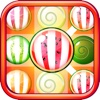 Candy Fruits Mania - Juicy Fruit Puzzle Connect fight fruits mania