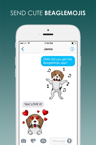 BeagleMojis - Beagle Emojis & Stickers screenshot 2